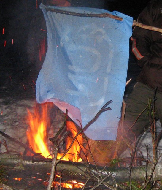 Burning UN Flags-2