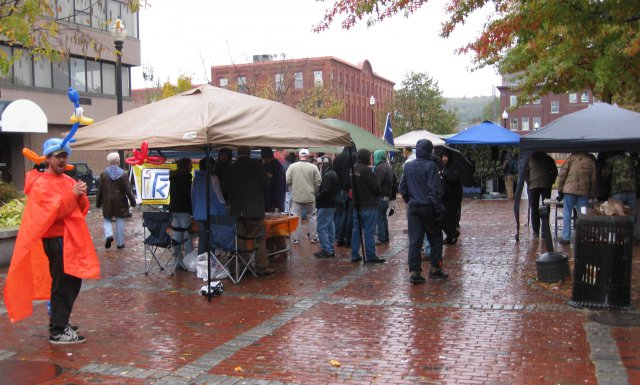 Free Keene Fest in the rain