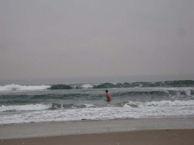 Jeff Spies an Oncoming Wave